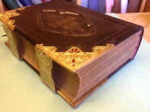 Finished Bible Repair