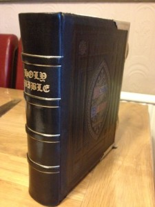 New spine bible