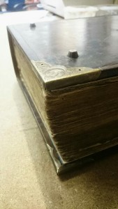 1770 family bible repair