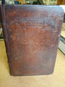 welsh bible repair after