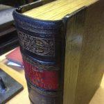 Restoration and book repair work
