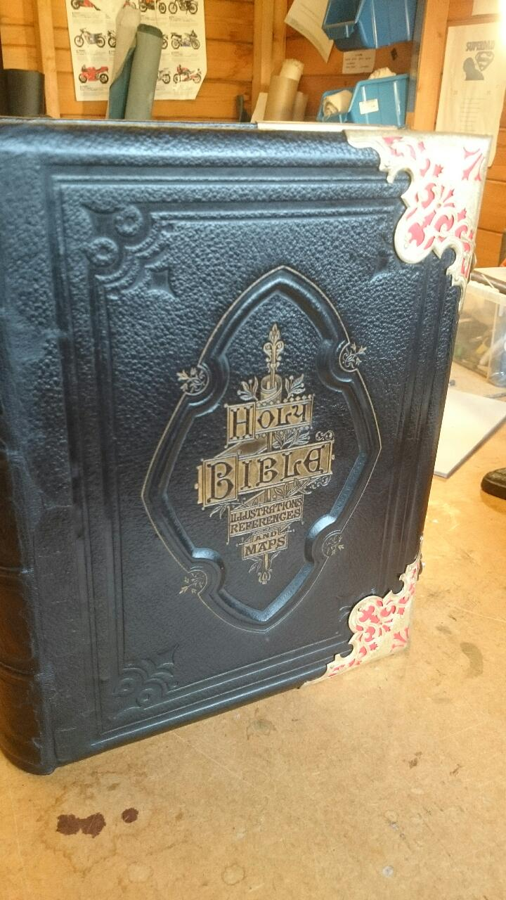 Family Bible Restoration and Repair | Chester Book Binders