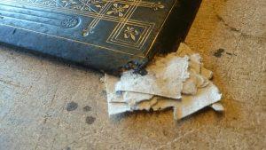 Repair of bible corner