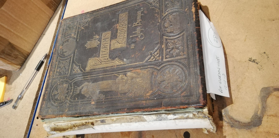 Latest book repairs and bible repairs   Chester Book Binders